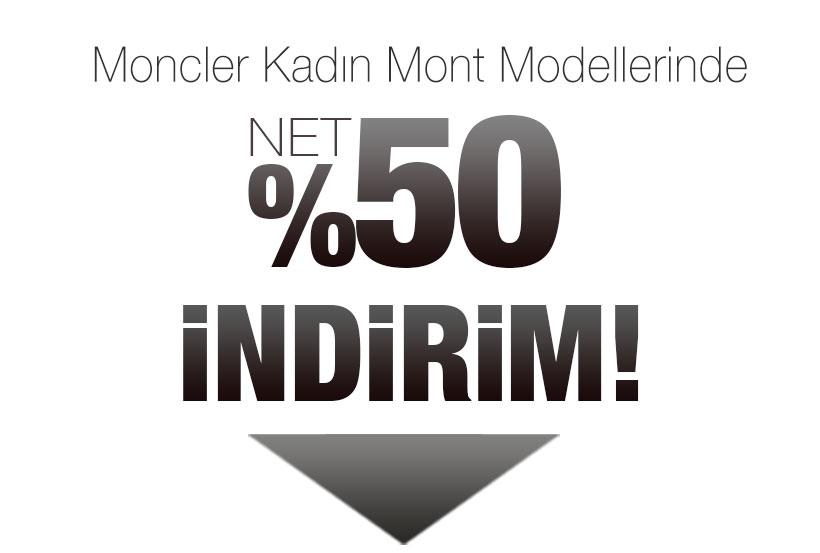 Moncler Kadın Mont Sezon Kampanyası