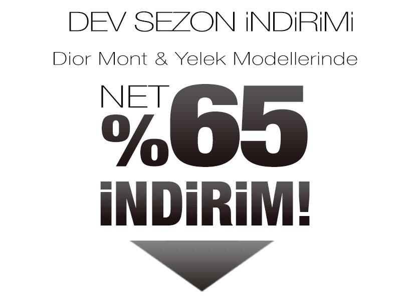 Dior Mont Sezon Kampanyası