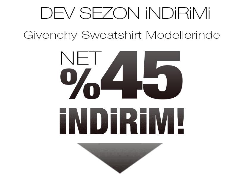 Givenchy Sweatshirt Sezon Kampanyası