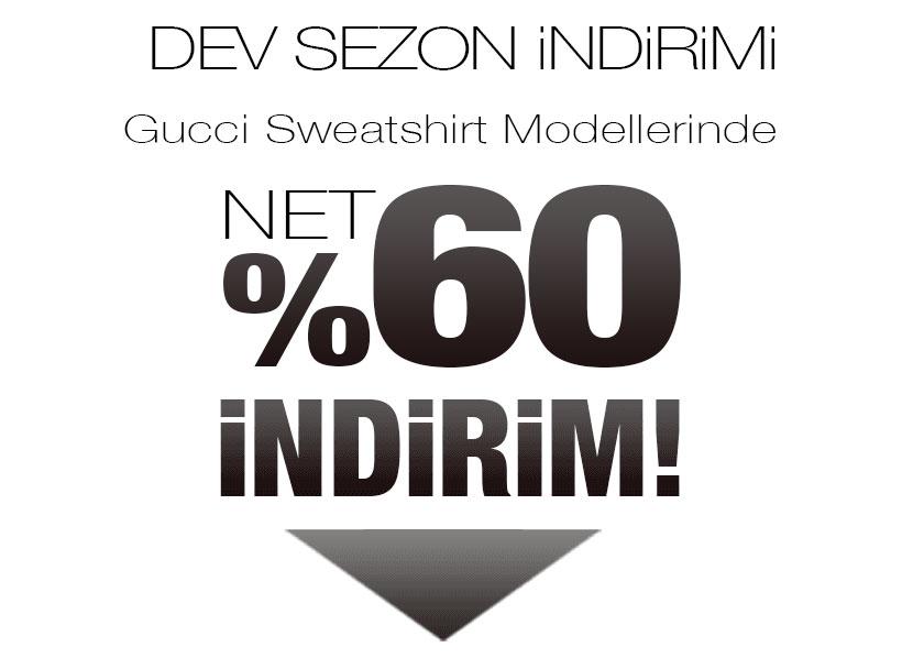 Gucci Sweatshirt Kadın Sezon Kampanyası