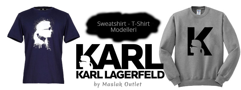 Karl Lagerfeld Sweatshirt & T-Shirt Modelleri