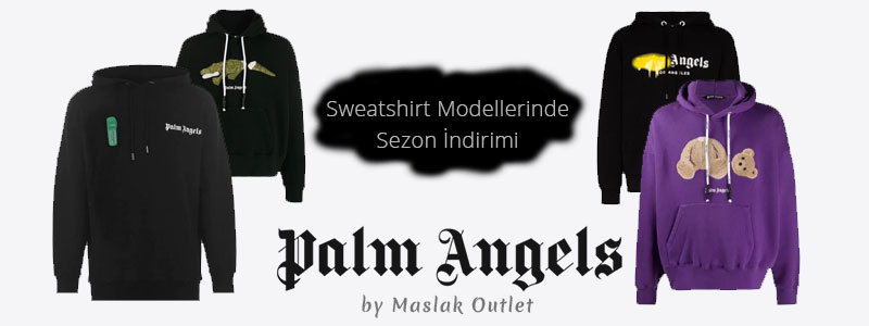 Palm Angels Sweatshirt Modelleri Banner