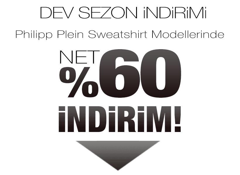 Philipp Plein Sweatshirt Sezon Kampanyası