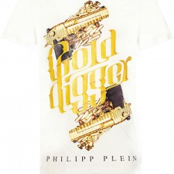 Philipp Plein Gold Digger - White