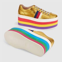 metallic-leather-platform-sneaker-kadin-ayakkabi-gucci-gold-sari-5