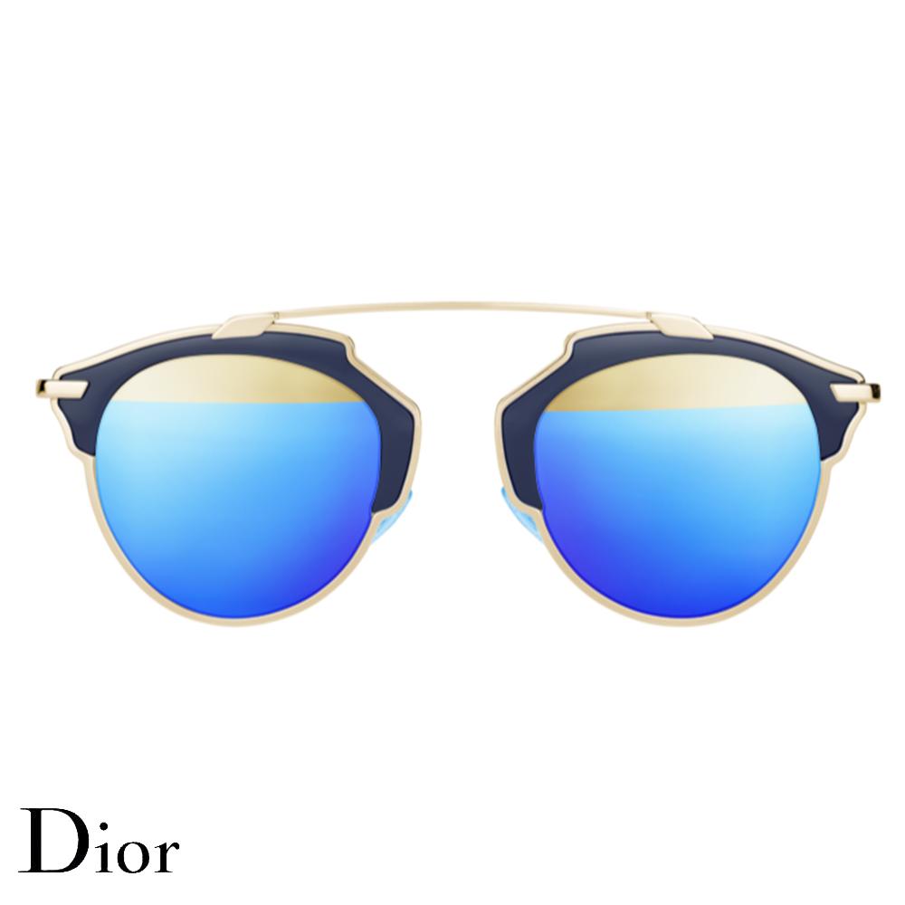 Dior So Real Gözlük Blue-Gold - 11 #Dior #DiorSoReal #Gözlük - 2