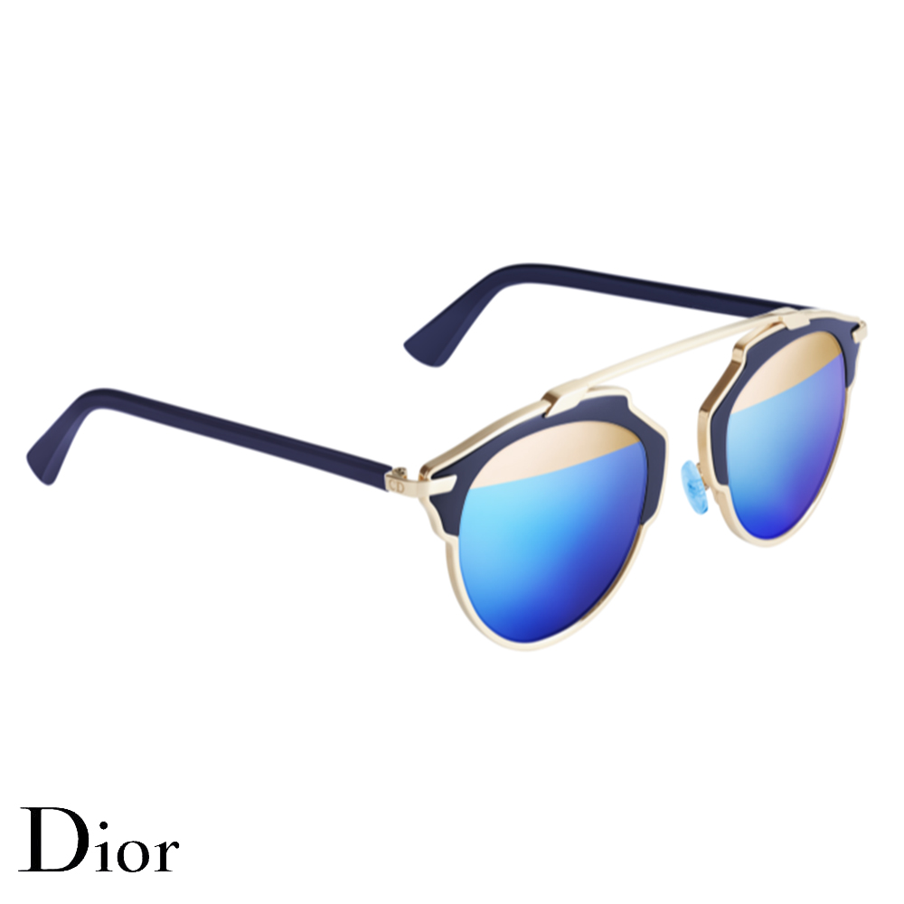 Dior So Real Gözlük Blue-Gold - 11 #Dior #DiorSoReal #Gözlük