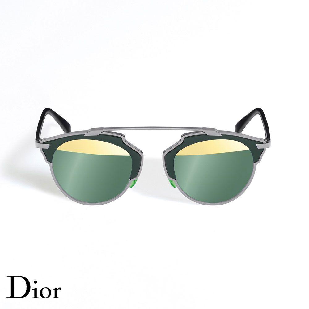 Dior So Real Gözlük Kaki-Gold - 2 #Dior #DiorSoReal #Gözlük - 2