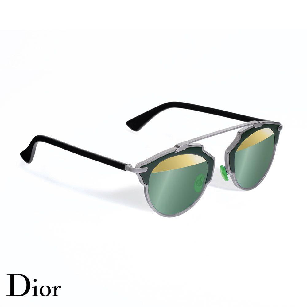 Dior So Real Gözlük Kaki-Gold - 2 #Dior #DiorSoReal #Gözlük
