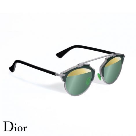 Dior Gözlük So Real Kaki-Gold #Dior #Gözlük #DiorGözlük #Unisex #DiorSo Real #So Real