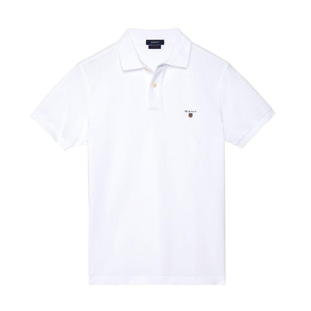 Gant Solid Tişört White - 1 #Gant #GantSolid #Tişört
