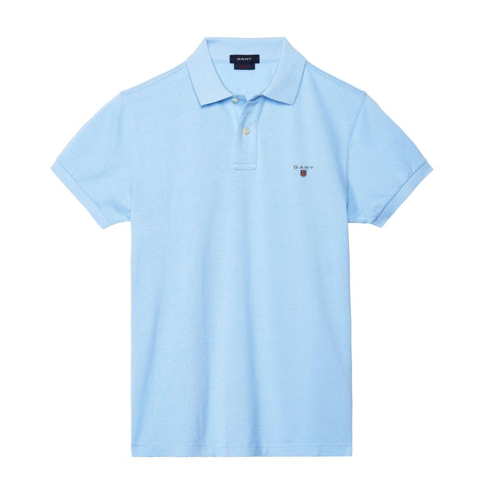 Gant Solid Tişört Capri-Blue - 3 #Gant #GantSolid #Tişört