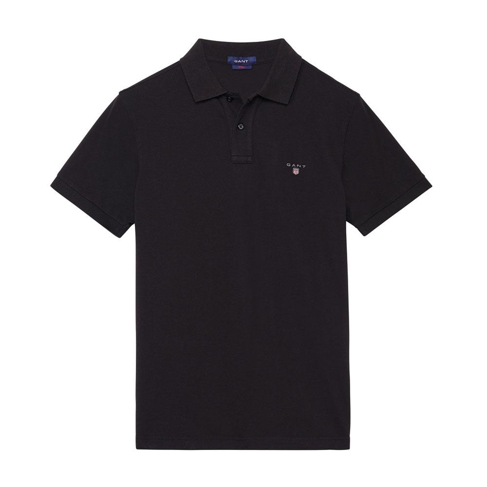 Gant Solid Tişört Black - 4 #Gant #GantSolid #Tişört