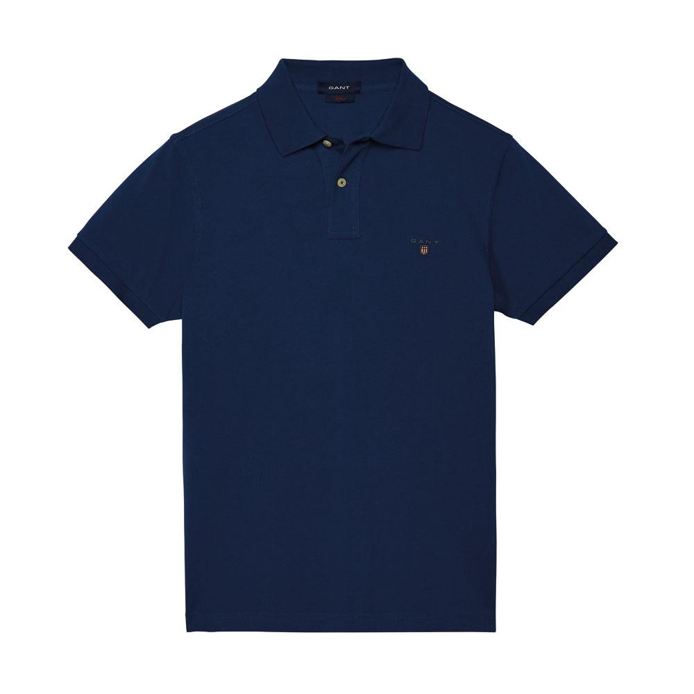 Gant Solid Tişört Indigo-Blue - 5 #Gant #GantSolid #Tişört
