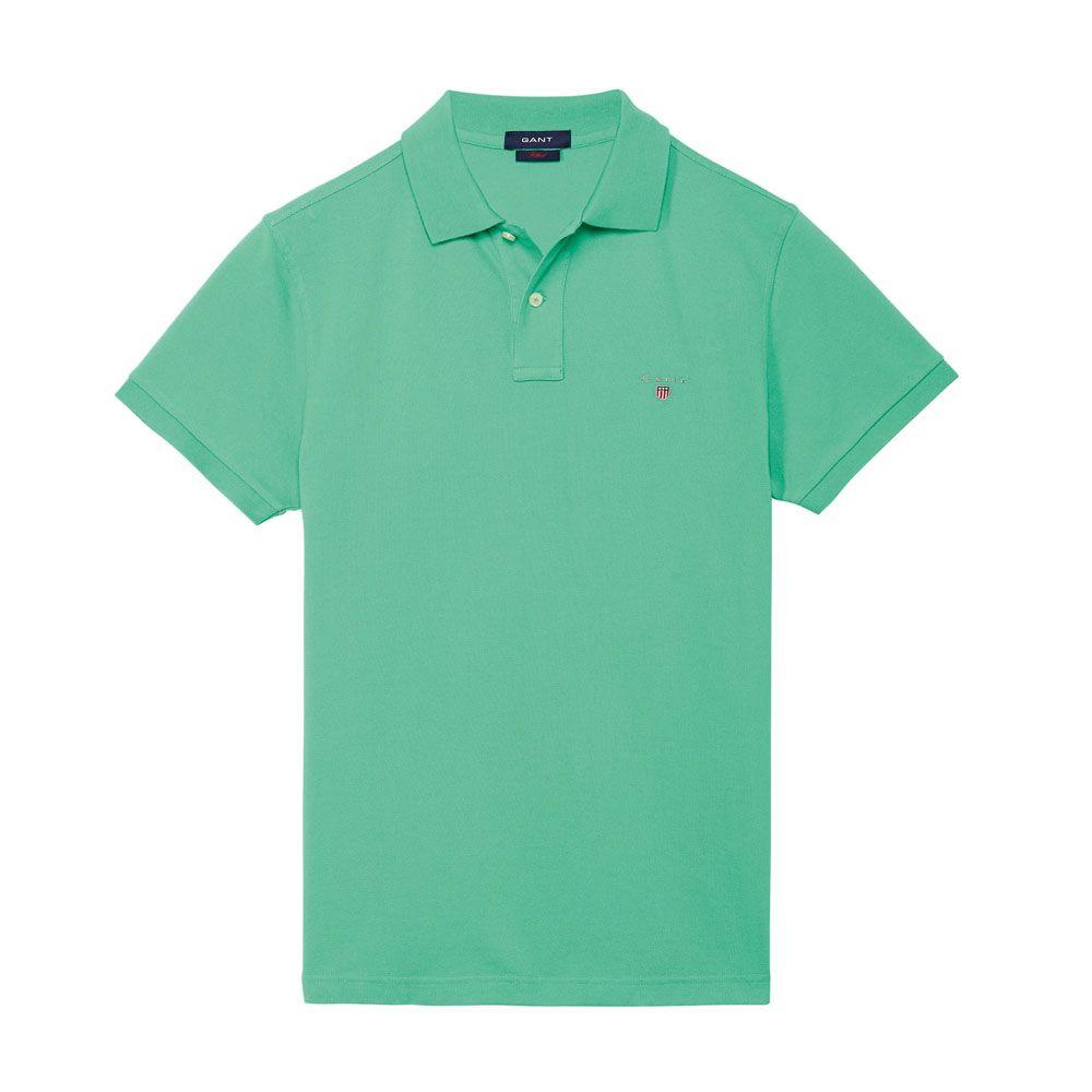 Gant Solid Tişört Green - 9 #Gant #GantSolid #Tişört