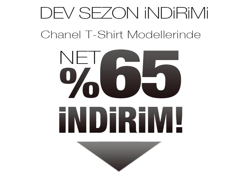 Chanel Tişört Sezon Kampanyası