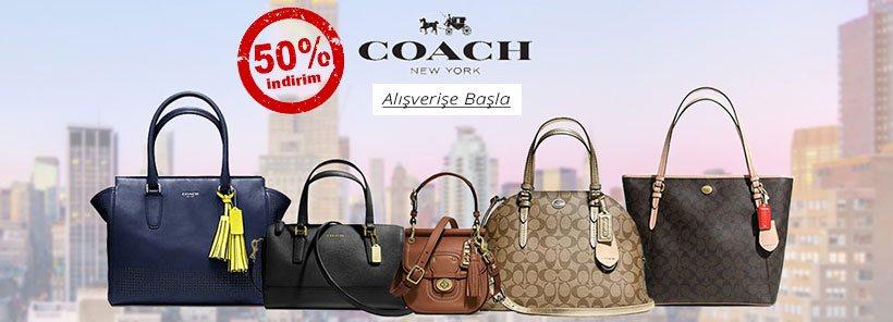 Coach Çanta & Cüzdan Modelleri