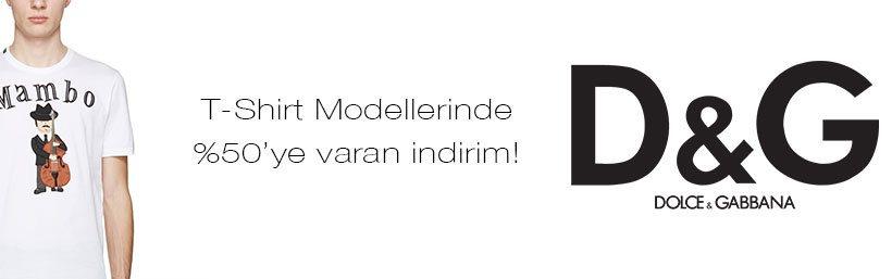 Dolce Gabbana Erkek Tişört Modelleri