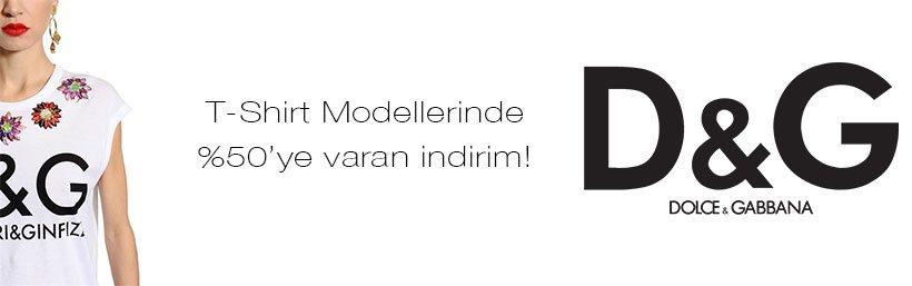 Dolce Gabbana Kadın Tişört Modelleri
