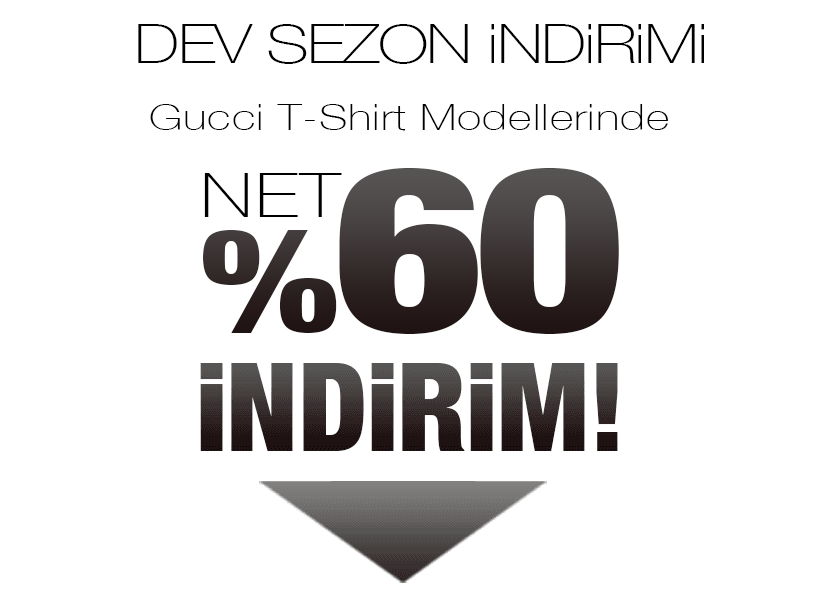 Gucci Tişört Sezon Kampanyası