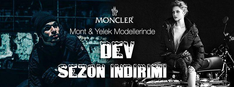 Moncler Mont & Moncler Yelek Modelleri'nde Kampanya Banner