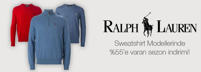 Ralph Lauren Sweatshirt, Kazak Modelleri  Banner