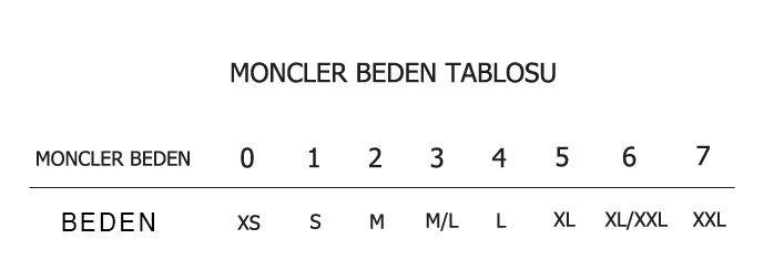 moncler 3 beden