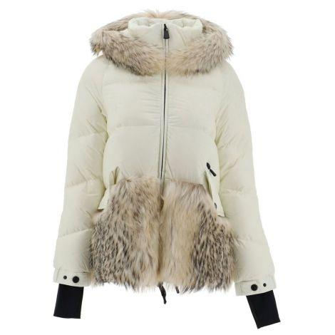 Moncler Mont Joux Beyaz - Moncler Grenoble Women Clothing Coats Down Jackets Joux Beyaz