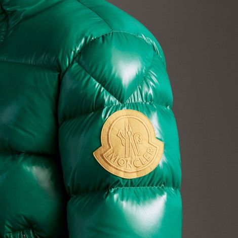 Moncler Mont Dervaux Yeşil - Moncler Mont 2021 Erkek Dervaux Jacket Sisme Yesil