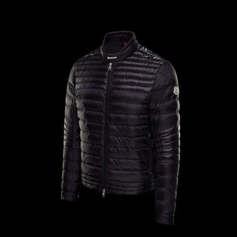 Moncler Mont Kavir Siyah - Moncler Mont 21 Erkek Biker Kavir Jacket Siyah