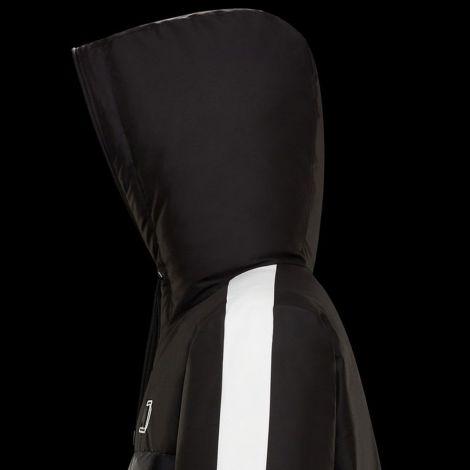 Moncler Mont Stripe Siyah - Moncler Mont 21 Erkek Pernon Sapkali Siyah