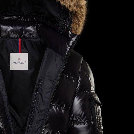 Moncler Mont Morel Siyah - Moncler Mont 21 Morel Jacket Black Erkek Siyah