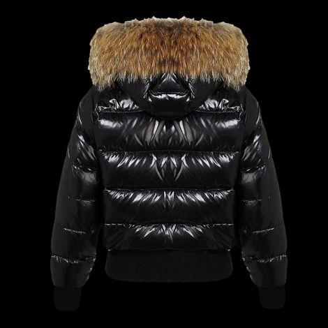 Moncler Mont Alpes Siyah - Moncler Mont Alpes Kadin Siyah Black Jacket