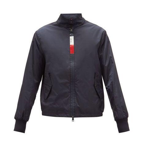 Moncler Mont Windbreaker Lacivert - Moncler Mont Tricolour Zip Shell Windbreaker Jacket Lacivert