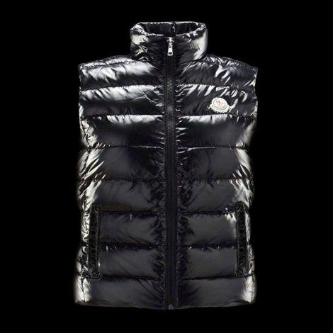 Moncler Vest Black - Moncler Vest Yelek Yeni Sezon Fermuarli Erkek Siyah Yeni2