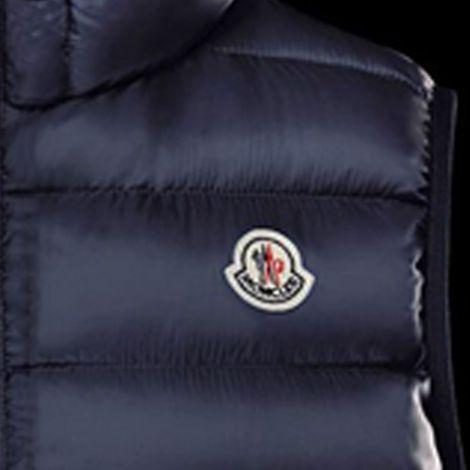Moncler Yelek Amiens Blue - Moncler Yelek Amiens Mavi Erkek 2018 Yeni Sezon