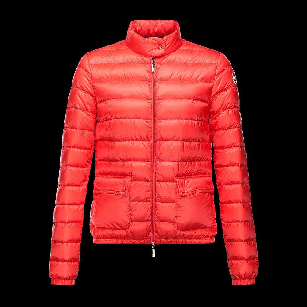 Moncler Lans Mont Kırmızı - 104 #Moncler #MonclerLans #Mont