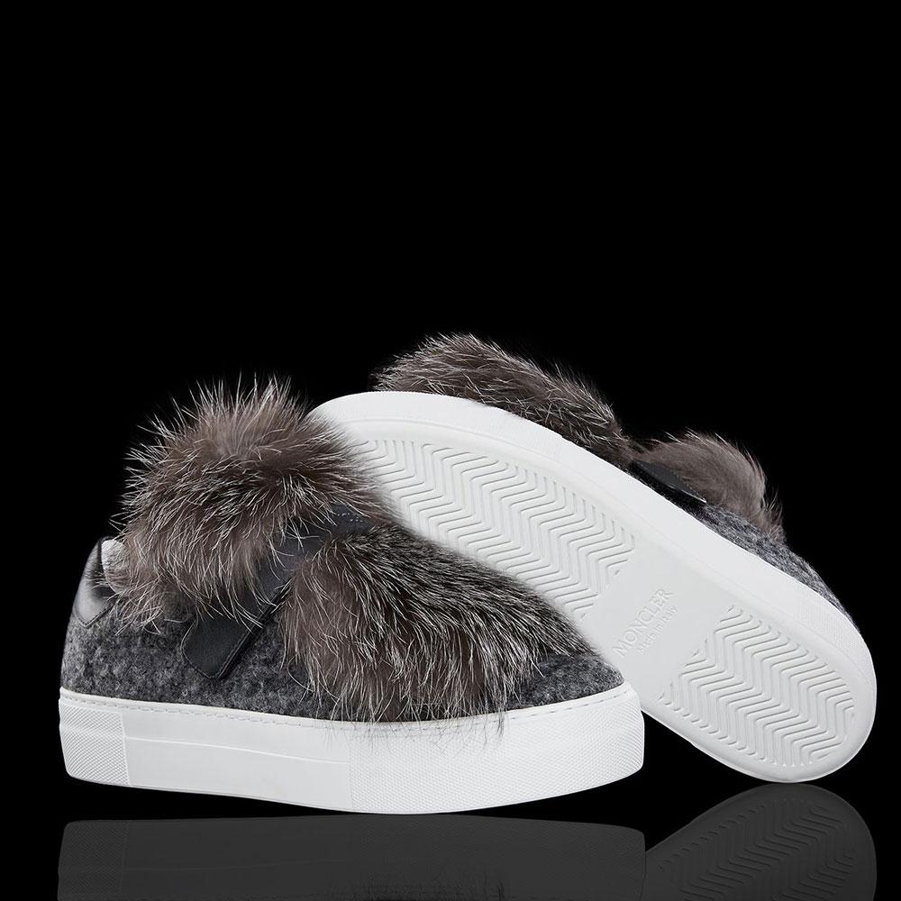 Moncler Victoire Ayakkabı Gri - 200 #Moncler #MonclerVictoire #Ayakkabı - 2
