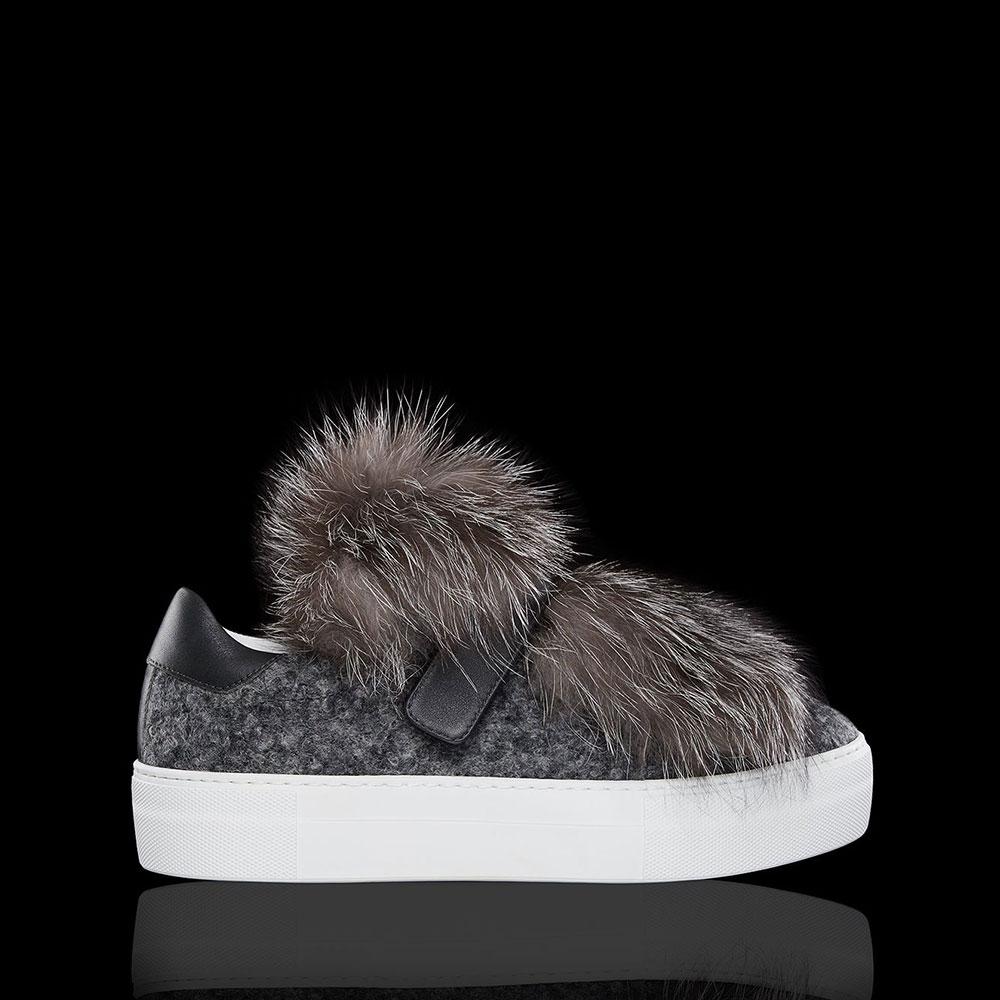 Moncler Victoire Ayakkabı Gri - 200 #Moncler #MonclerVictoire #Ayakkabı