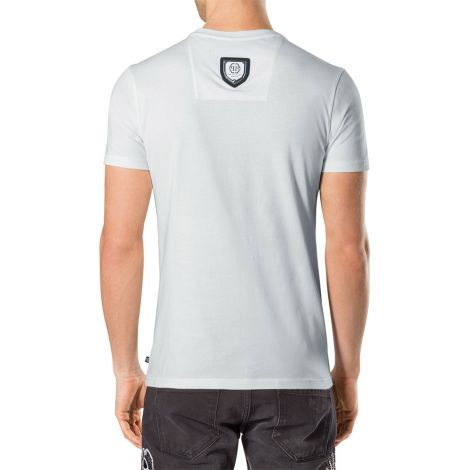Philipp Plein Tişört Boston Beyaz #PhilippPlein #Tişört #PhilippPleinTişört #Erkek #PhilippPleinBoston #Boston