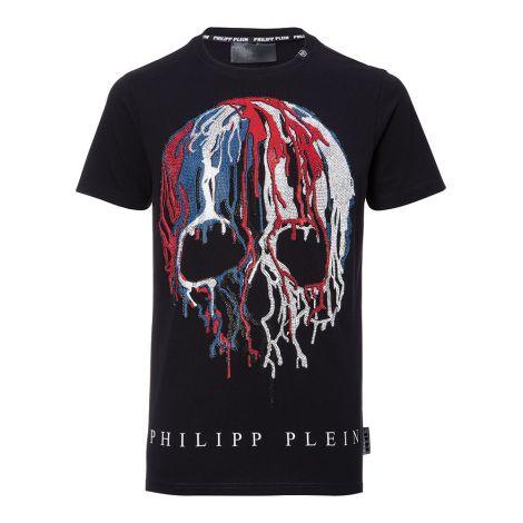 Philipp Plein Tişört Cesar Siyah #PhilippPlein #Tişört #PhilippPleinTişört #Erkek #PhilippPleinCesar #Cesar