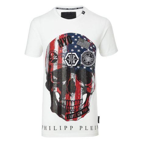 Philipp Plein Tişört Dan Beyaz #PhilippPlein #Tişört #PhilippPleinTişört #Erkek #PhilippPleinDan #Dan