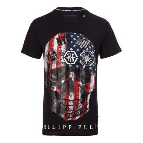 Philipp Plein Tişört Dan Siyah #PhilippPlein #Tişört #PhilippPleinTişört #Erkek #PhilippPleinDan #Dan