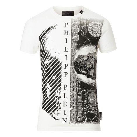 Philipp Plein Tişört Kent Beyaz #PhilippPlein #Tişört #PhilippPleinTişört #Erkek #PhilippPleinKent #Kent
