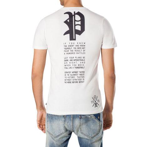 Philipp Plein Tişört Mara Beyaz #PhilippPlein #Tişört #PhilippPleinTişört #Erkek #PhilippPleinMara #Mara