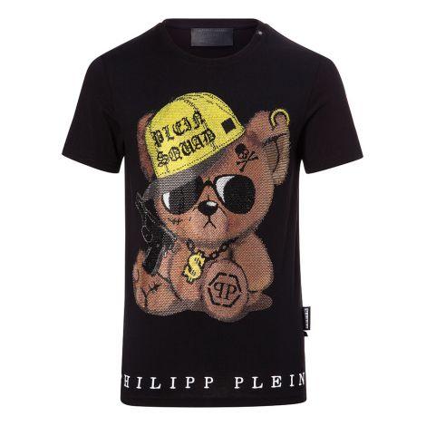 Philipp Plein Tişört Teddy Siyah #PhilippPlein #Tişört #PhilippPleinTişört #Erkek #PhilippPleinTeddy #Teddy