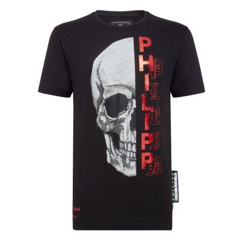 Philipp Plein Tişört Gothic Siyah #PhilippPlein #Tişört #PhilippPleinTişört #Erkek #PhilippPleinGothic #Gothic