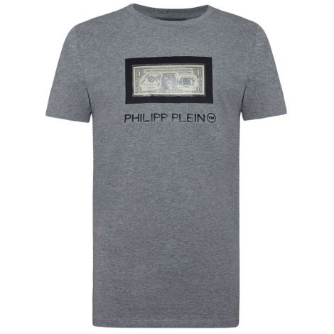 Philipp Plein Tişört Dollar Gri #PhilippPlein #Tişört #PhilippPleinTişört #Erkek #PhilippPleinDollar #Dollar