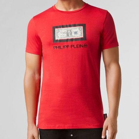 Philipp Plein Tişört Dollar Kırmızı #PhilippPlein #Tişört #PhilippPleinTişört #Erkek #PhilippPleinDollar #Dollar