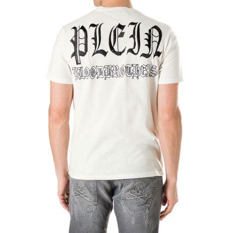 Philipp Plein Tişört Nick Beyaz #PhilippPlein #Tişört #PhilippPleinTişört #Erkek #PhilippPleinNick #Nick